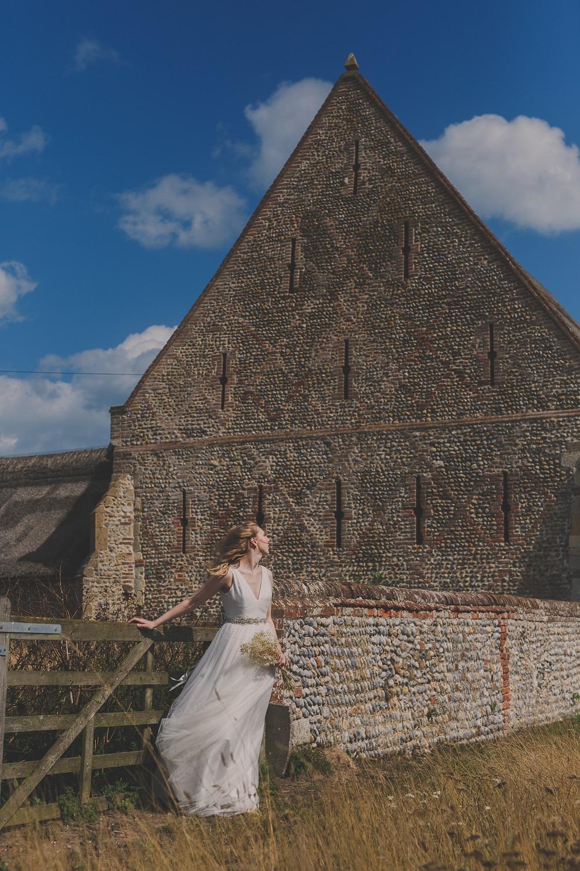 Waxham Barn Bride