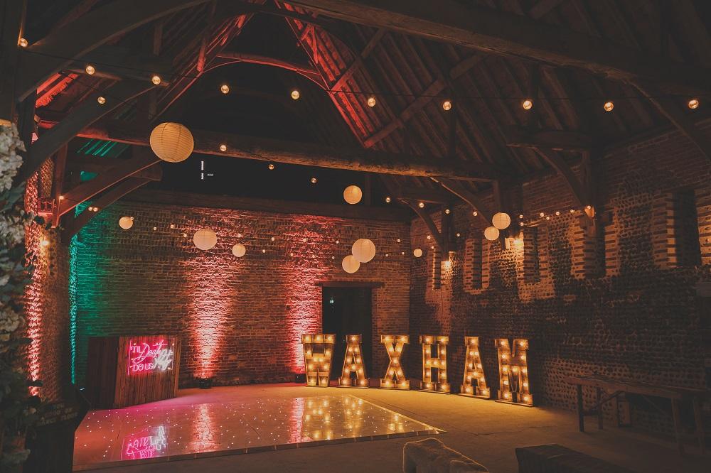 Waxham Barn Interior