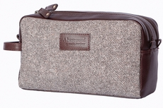 Abertweed men's wash bag