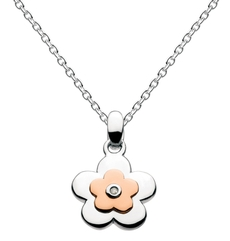Flower necklace for girls