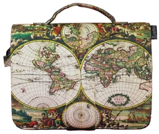 17th Century World Map journal cover