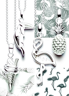 New summery silver charms