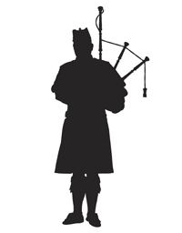 The beauty of bagpipes