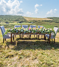 Al fresco weddings