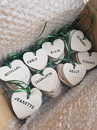 Personalised keepsake