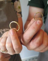 With this ring