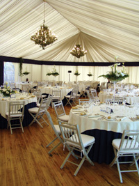 A wow-factor reception