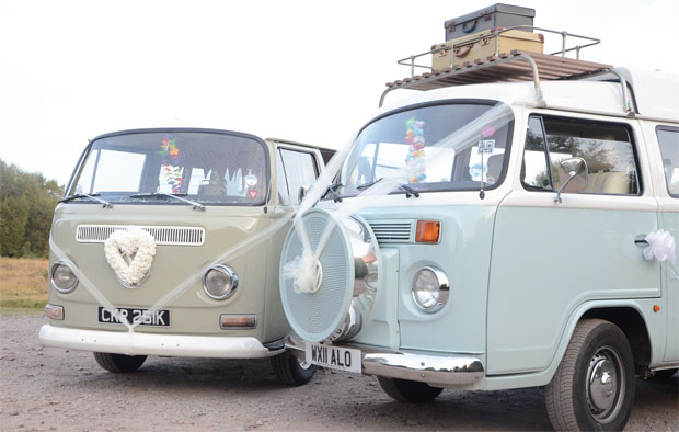 Win campervan hire for your big day worth £750