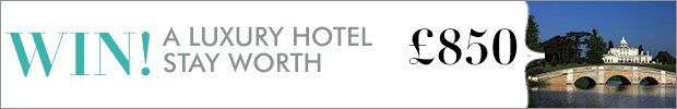 Win a luxury hotel stay worth £850