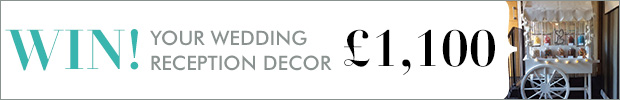 Win your wedding reception décor worth £1,100