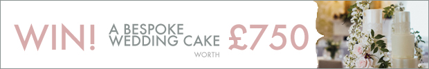 WIN! Your wedding cake, worth £750