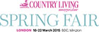 Ticket Giveaway to Country Living Spring Fair