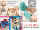 Win! the latest selection of baby knit books from Search Press
