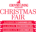 Win one of six pairs of tickets to The Country Living Christmas Fair - Choose from 3 locations!