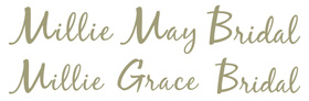 Visit the Millie Grace Bridal website
