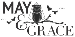 Visit the May & Grace Bridal website