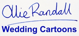 Visit the Ollie Randall, Wedding Cartoonist website