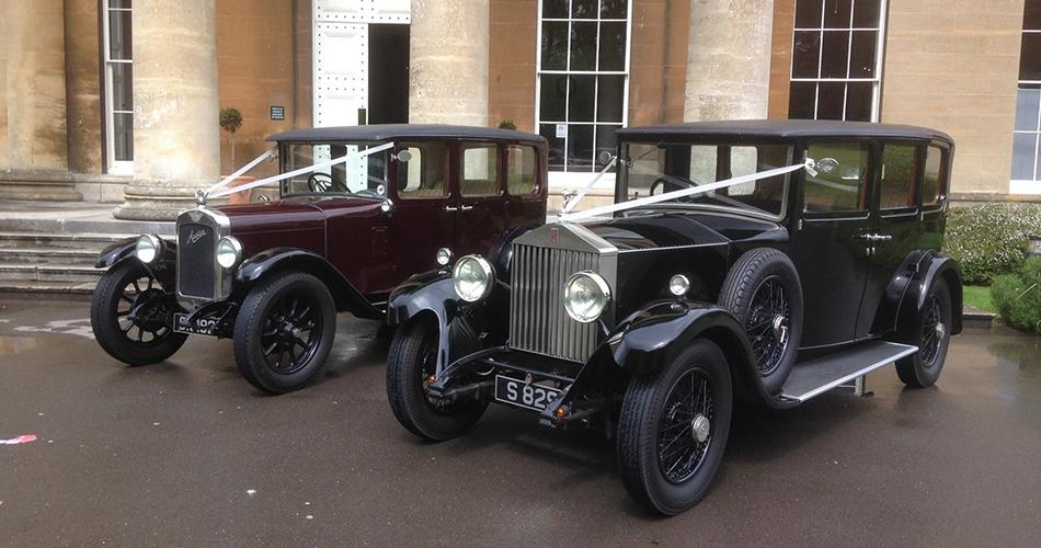 Image 1: Triggols' Vintage Wedding Cars