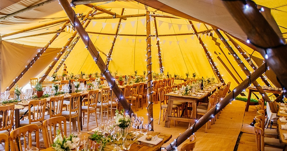 Image 1: Teepee Tent Hire