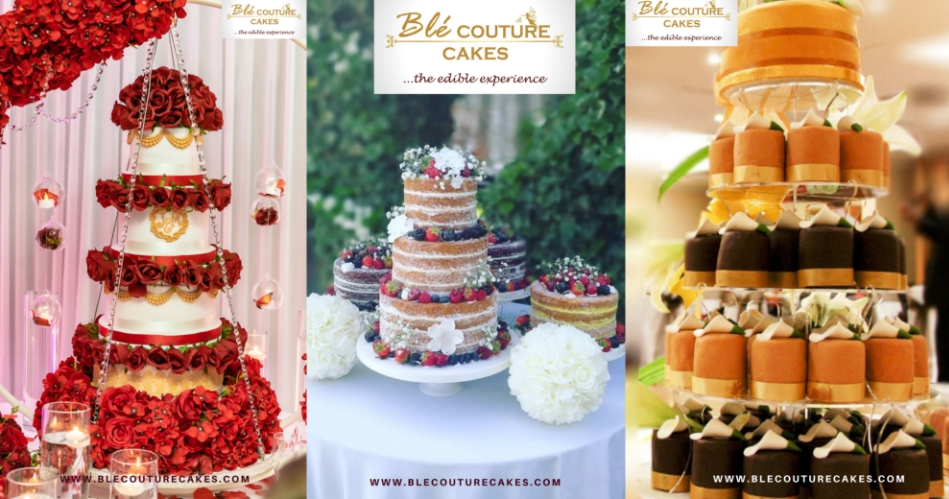 Image 1: Blé Couture Cakes