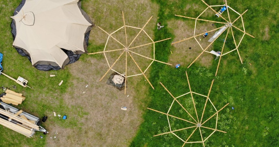 Image 1: Cotswold Tipis