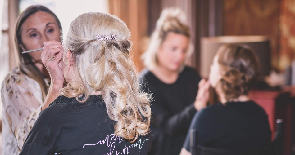 Image 1: The Wedding Hair Stylists & The Bridal Make-Up Artists