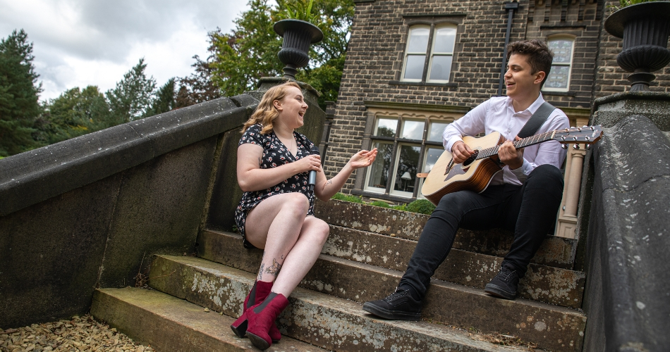 Image 1: Becky and Josh Duo