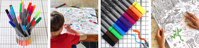 Fun craft kits and wash-out pens