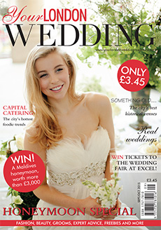 Front cover of Your London Wedding magazine - issue 43