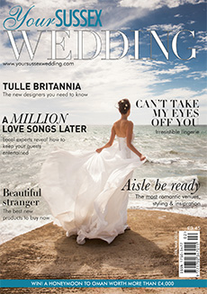 Front cover of Your Sussex Wedding magazine - issue 59