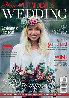 Front cover of Your West Midlands Wedding magazine - issue 41