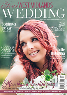 Front cover of Your West Midlands Wedding magazine - issue 42