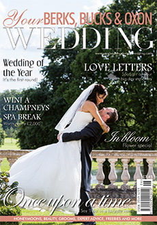 Front cover of Your Berks, Bucks and Oxon Wedding magazine - issue 59