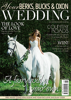 Front cover of Your Berks, Bucks and Oxon Wedding magazine - issue 60