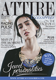 Issue 58 of Attire Accessories magazine