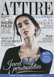 Issue 58 of Attire Accessories magazine