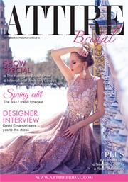 Issue 55 of Attire Bridal magazine