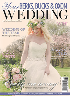 Front cover of Your Berks, Bucks and Oxon Wedding magazine - issue 63