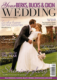 Front cover of Your Berks, Bucks and Oxon Wedding magazine - issue 64