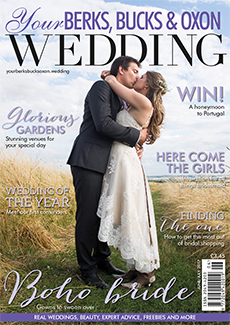 Front cover of Your Berks, Bucks and Oxon Wedding magazine - issue 65