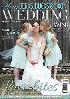 Front cover of Your Berks, Bucks and Oxon Wedding magazine - issue 66
