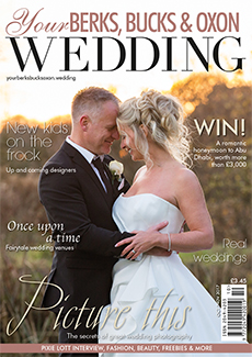 Front cover of Your Berks, Bucks and Oxon Wedding magazine - issue 67