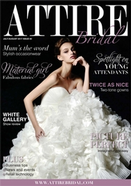 Issue 60 of Attire Bridal magazine