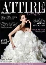 Issue 60 of Attire Bridal magazine
