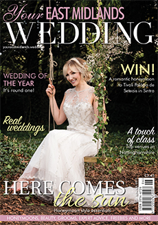 Front cover of Your East Midlands Wedding magazine - issue 20