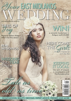 Front cover of Your East Midlands Wedding magazine - issue 25