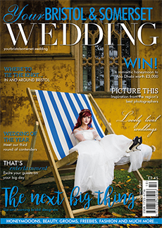 Front cover of Your Bristol and Somerset Wedding magazine - issue 61