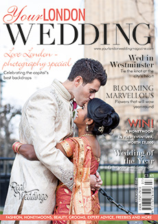 Front cover of Your London Wedding magazine - issue 48