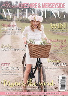 Front cover of Your Cheshire & Merseyside Wedding magazine - issue 34