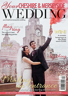 Front cover of Your Cheshire & Merseyside Wedding magazine - issue 35